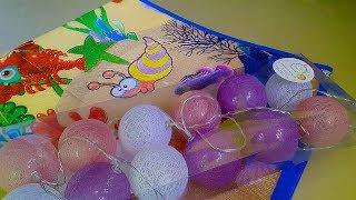 Обзор FixPrice/Распаковка гирлянда и детский коврик/товары для детей фикс прайс