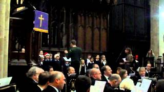 Christmas Song ( Jingle Bells) at Newark Parish Church of St Mary Magdalene (7)