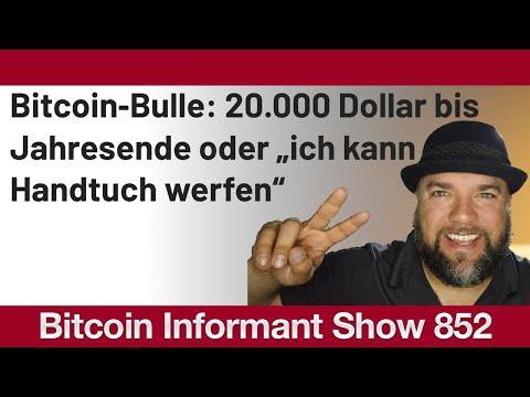 """#852 Bitcoin20k oder """"ich kann das Handtuch werfen"""", McAfee empfiehlt 3 Altcoins & Poloniex IEO"""