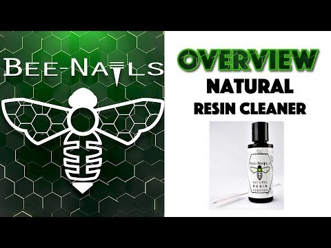 Natural Resin Remover | Bee-Nails Product Overview