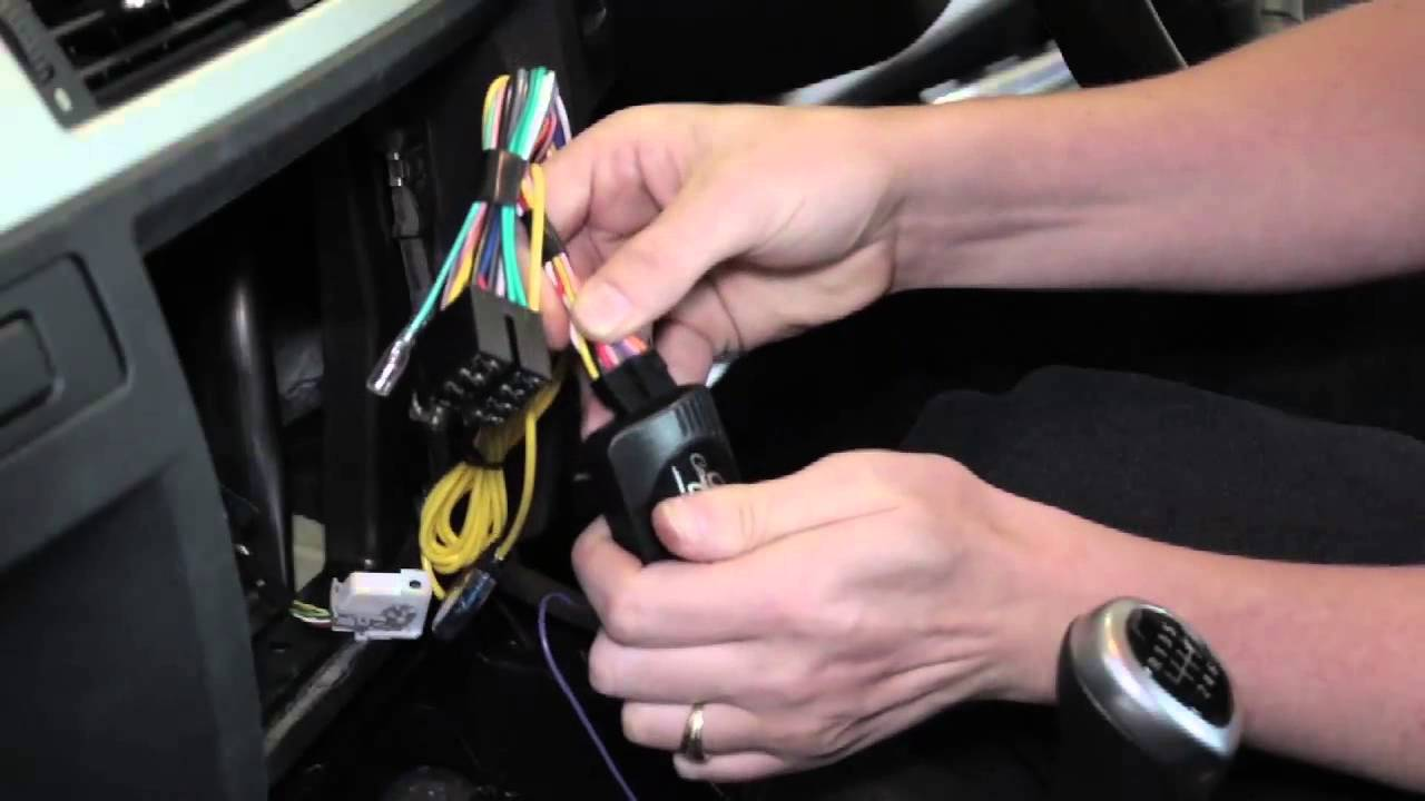 bmw 3 series e90  2006  integration kit  install guide
