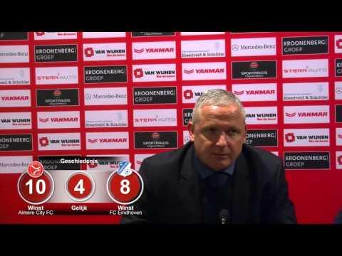 Persconferentie 12-02-2016 AlmereCityFC - FC Eindhoven