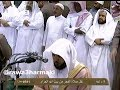 اذان الفجر بصوت رائع من المسجد الحرام   ومع الأذان إضاءة ساعة مكة