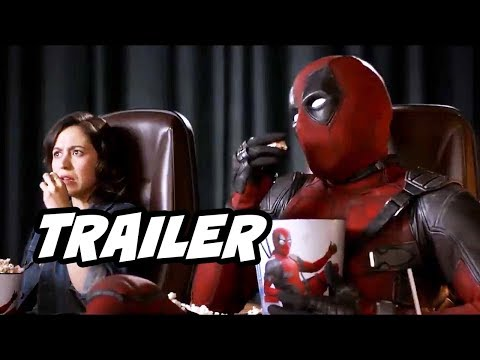 Deadpool 2 Trailer - Deadpool Holds X-Force Auditions and Banned Scenes Explained