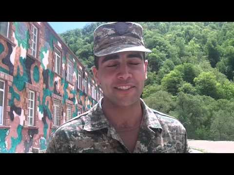 Վիդեոնամակ Զինվորից. Կրտսեր սերժանտ Մամիկոն Մնացականյան