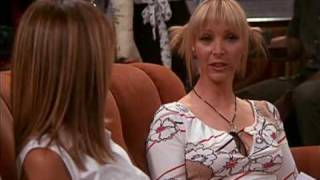 FRIENDS Cafe'.....Phoebe, Rachel and Chandler