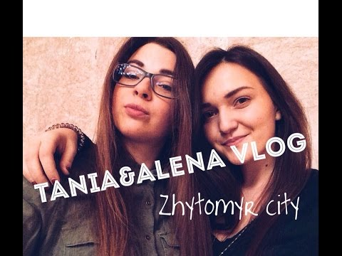 Zhytomyr city. Tania&Alena Vlog