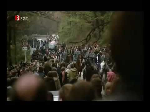 beerdigung von gudrun ensslin - andreas baader - jan-carl raspe