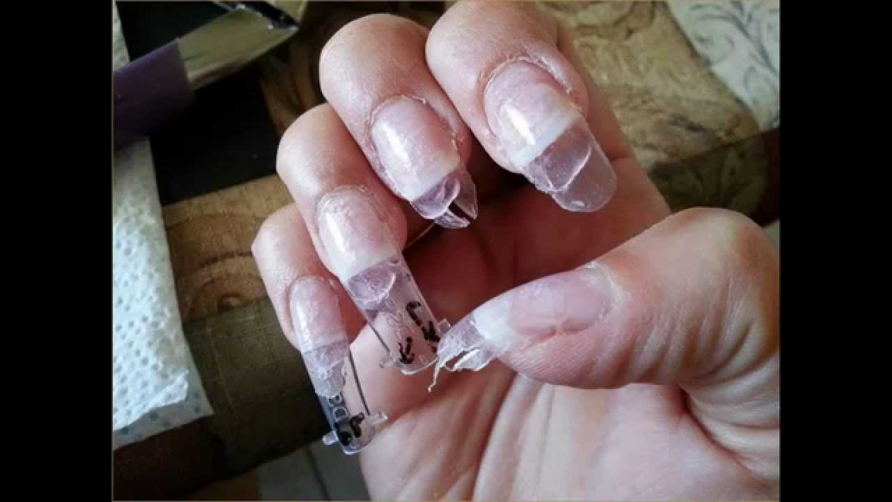 How To Removing Acrylic Nails At The Salon