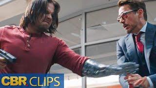 Winter Soldier Vs Avengers   Captain America Civil War   Marvel