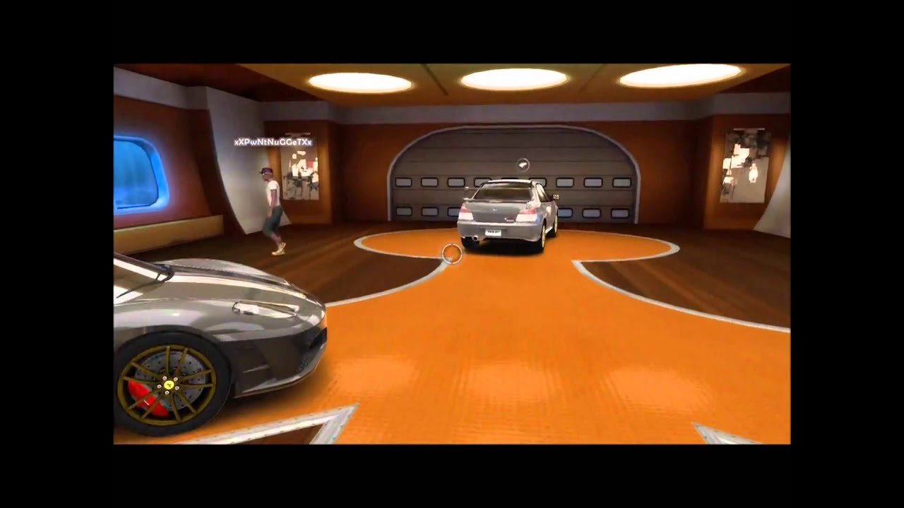 The best tdu2 garage ever youtube for Garage happy car