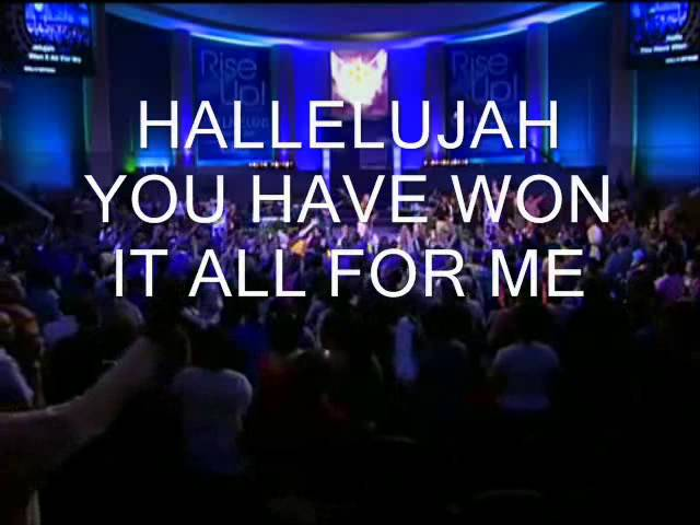 Newbirth Hallelujah You Have Won The Victory W Lyrics Chords