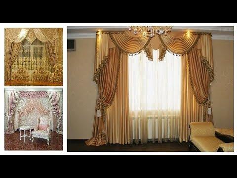 Luxury Valance Curtain Style #[Ideas]-Window Treatment Fashion Trends #Sam