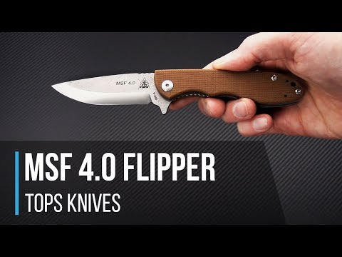 TOPS Knives MSF 4.0 Mini Scandi Flipper Overview