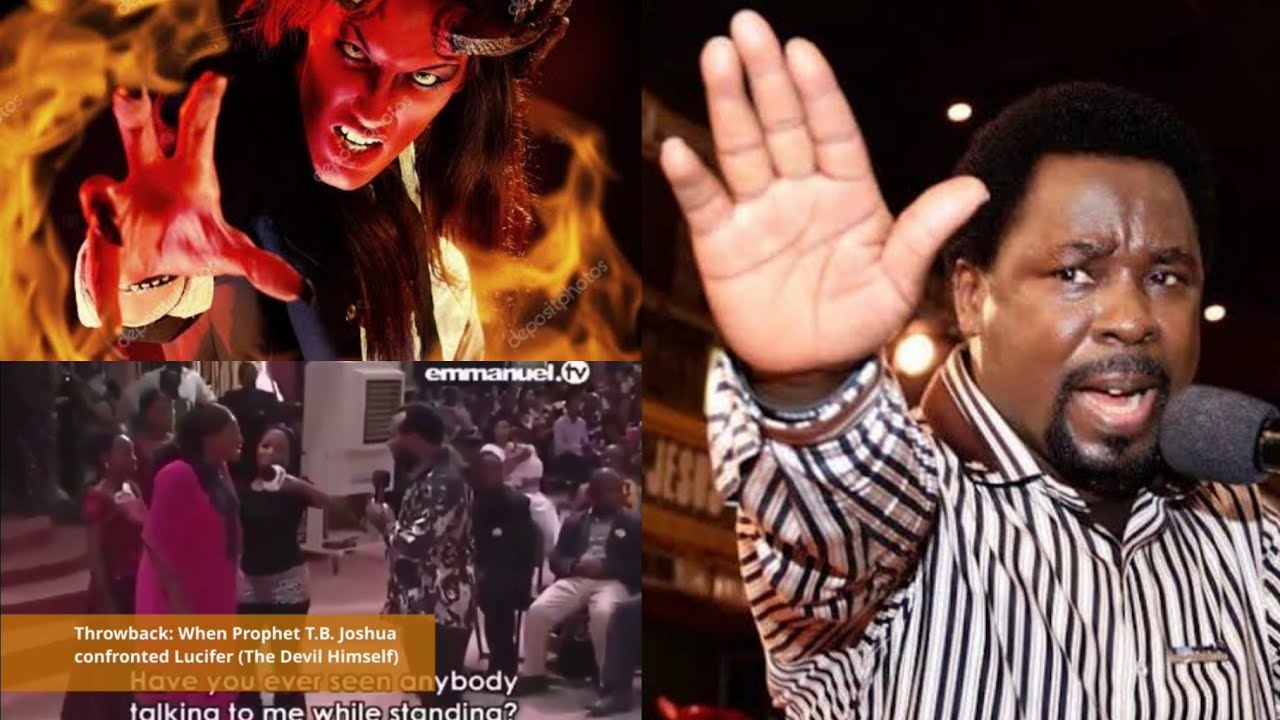 Download Lucifer vs Tb Joshua. TB Joshua confronted with lucifer face to face (the devil himself), full video