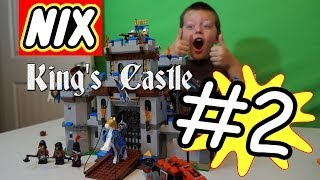 Nix! - Lego King's Castle #2 Catapults, Gates, & A Drawbridge! Timelapse Build 70404