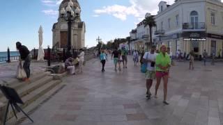 КРЫМ  ОБЗОРОЧКА НАБЕРЕЖНОЙ ЯЛТЫ / ОТДЫХ В КРЫМУ(Приехал в Крым, катаю на роликах по набке (набережная на местном сленге)) Уже 10 лет отдых в Крыму остается..., 2015-06-30T12:01:06.000Z)