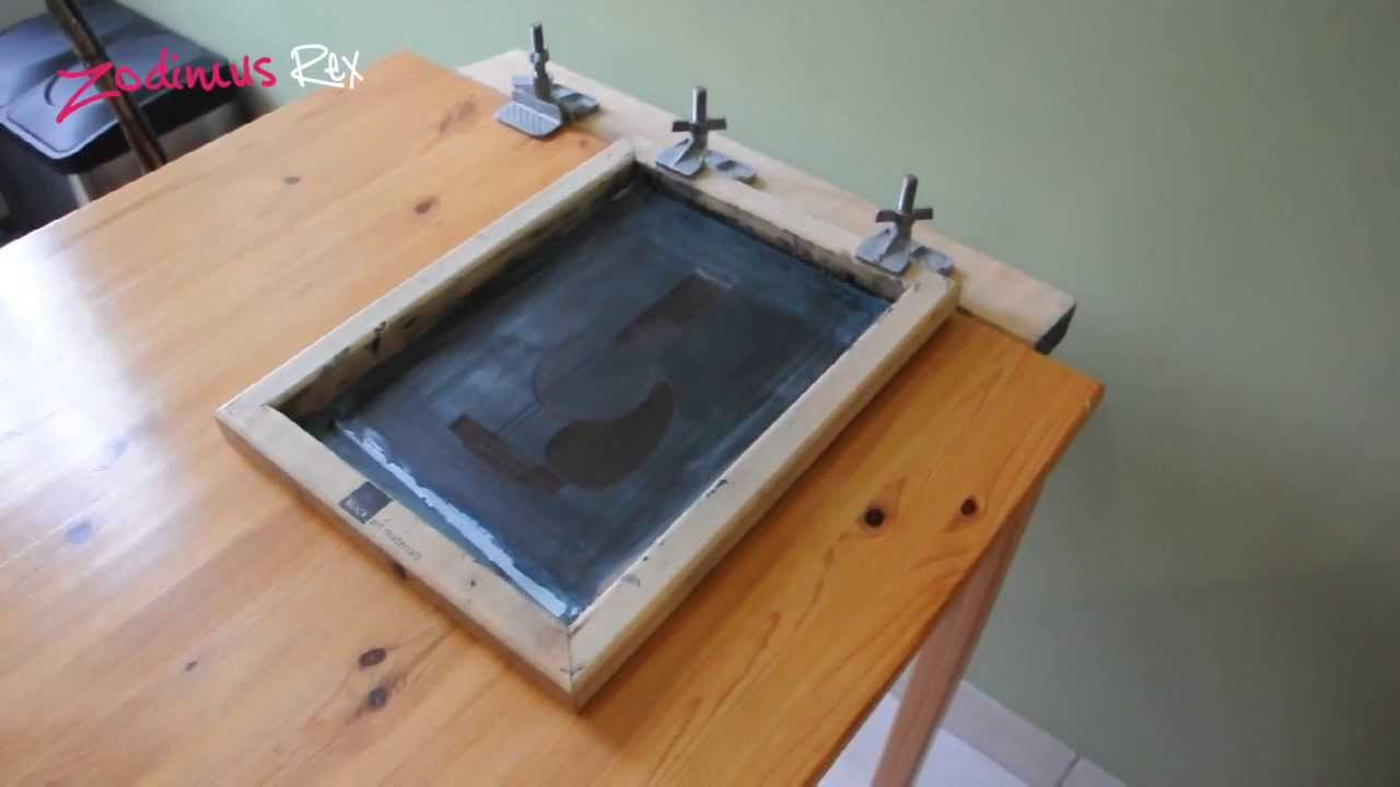Silkscreen Table Modification Youtube