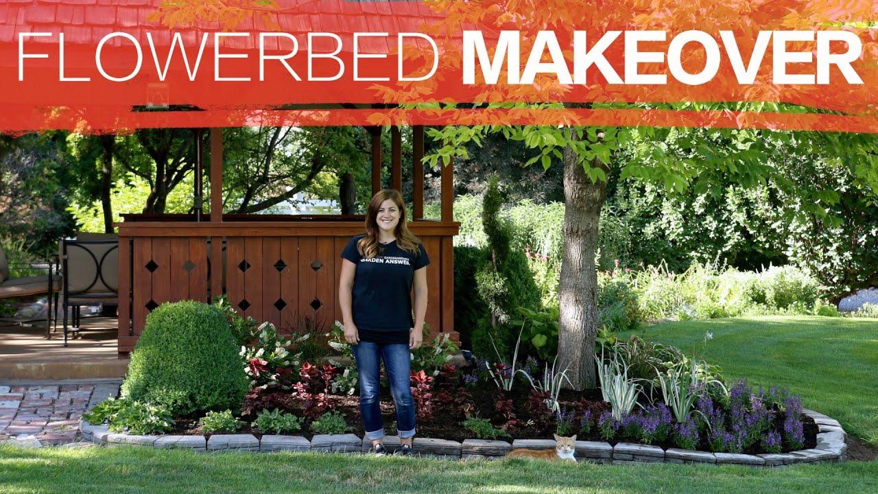 Flowerbed Makeover Full Version Garden Answer Youtube