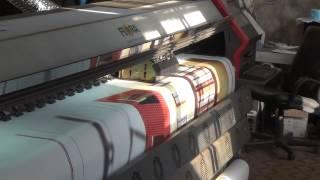 Широкоформатная печать на баннерной ткани. Принтер  Flora 320P.(Широкоформатная печать на баннерной ткани. Рекламное оформление строителных ограждений. Принтер Flora 320P...., 2014-11-12T06:02:47.000Z)