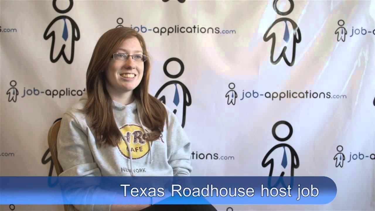Texas Roadhouse Interview - Hostess
