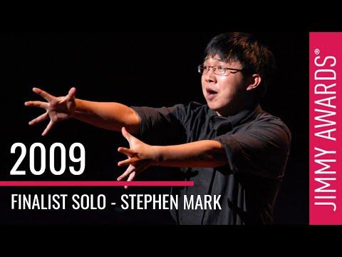 2009 Winner Stephen Mark
