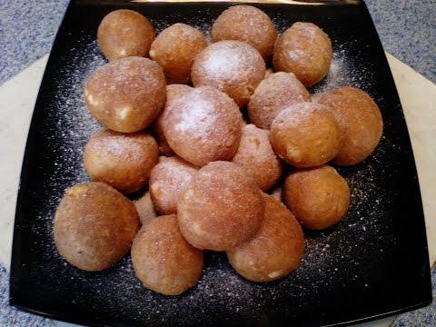 Творожные пончики — рецепт с фото. Как приготовить