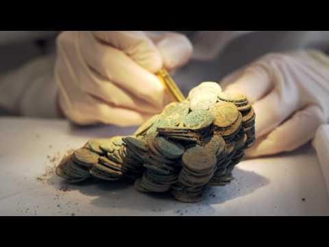 The Seaton Down Hoard - 22,888 Roman coins