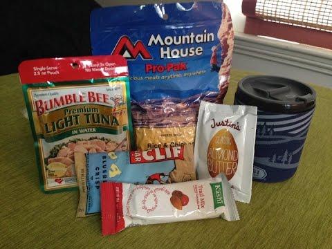 An Urban Bug Out Bag Emergency Food Supply