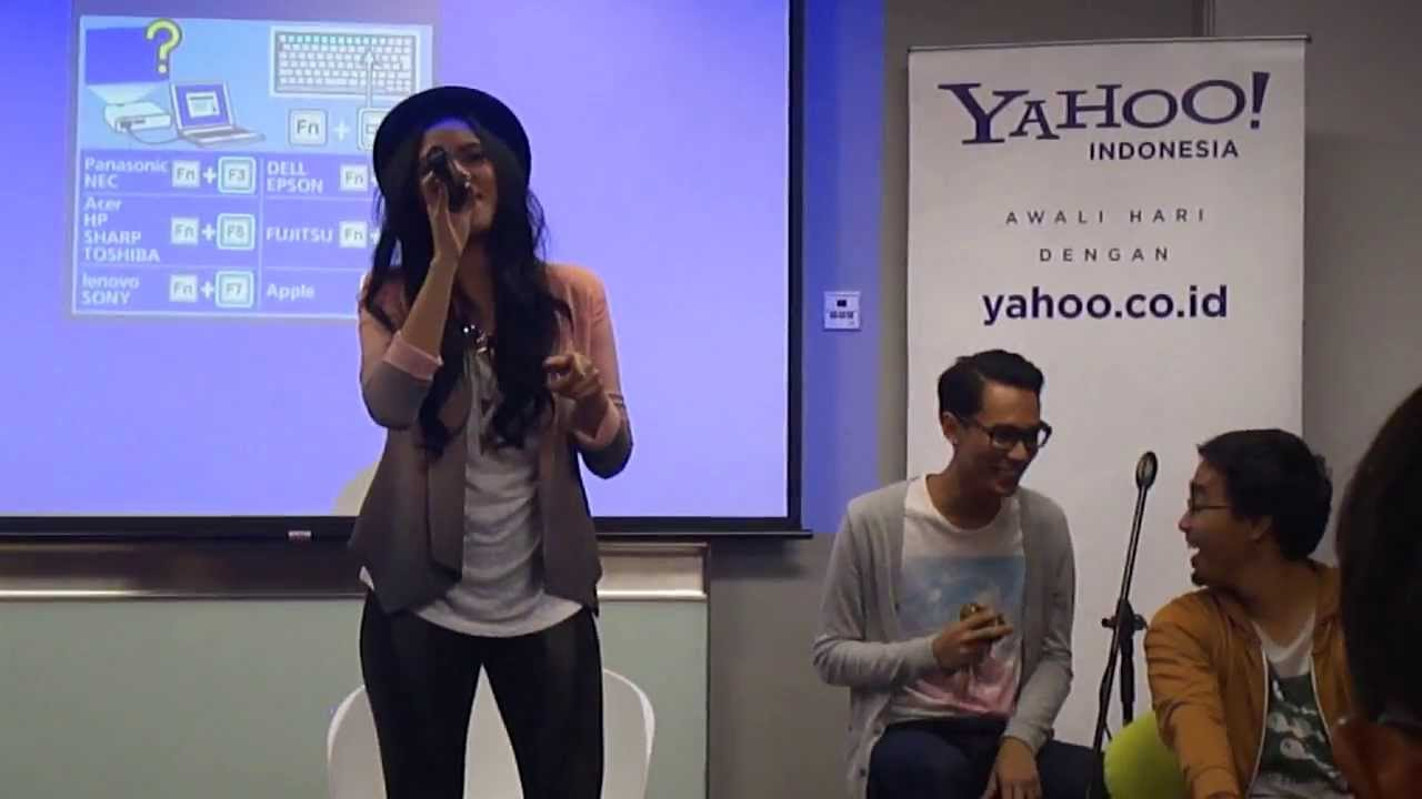 Raisa could it be live at yahoo indonesia youtube raisa could it be live at yahoo indonesia stopboris Gallery