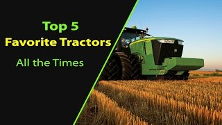 Top 5 Tractors ranked by Farmers Survey 2017