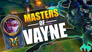 MASTERS OF VAYNE   INSANE 1V5 PENTAKILLS MONTAGE   League of Legends
