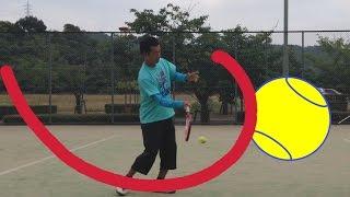 テニスの基本&上達の心がけ Tennis New Method with Subtitles thumbnail