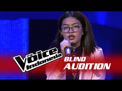 Nabila Vanza Love Yourself  The Blind Audition  The Voice Indonesia 2016