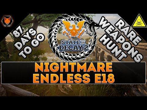 Fox's NIGHTMARE Zone Episode 18 (RARE WEAPONS HUNT!)