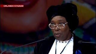 Zukiswa Madikizela pays tribute to her late sister Mama Winnie