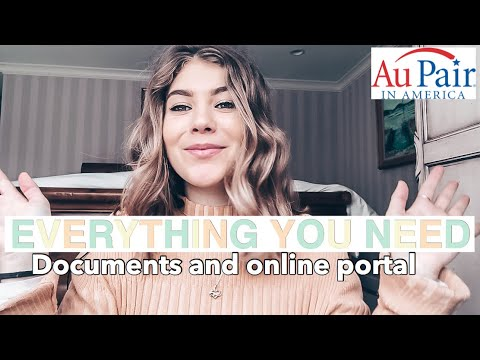 HOW TO BECOME AN AU PAIR IN THE USA   application and documents