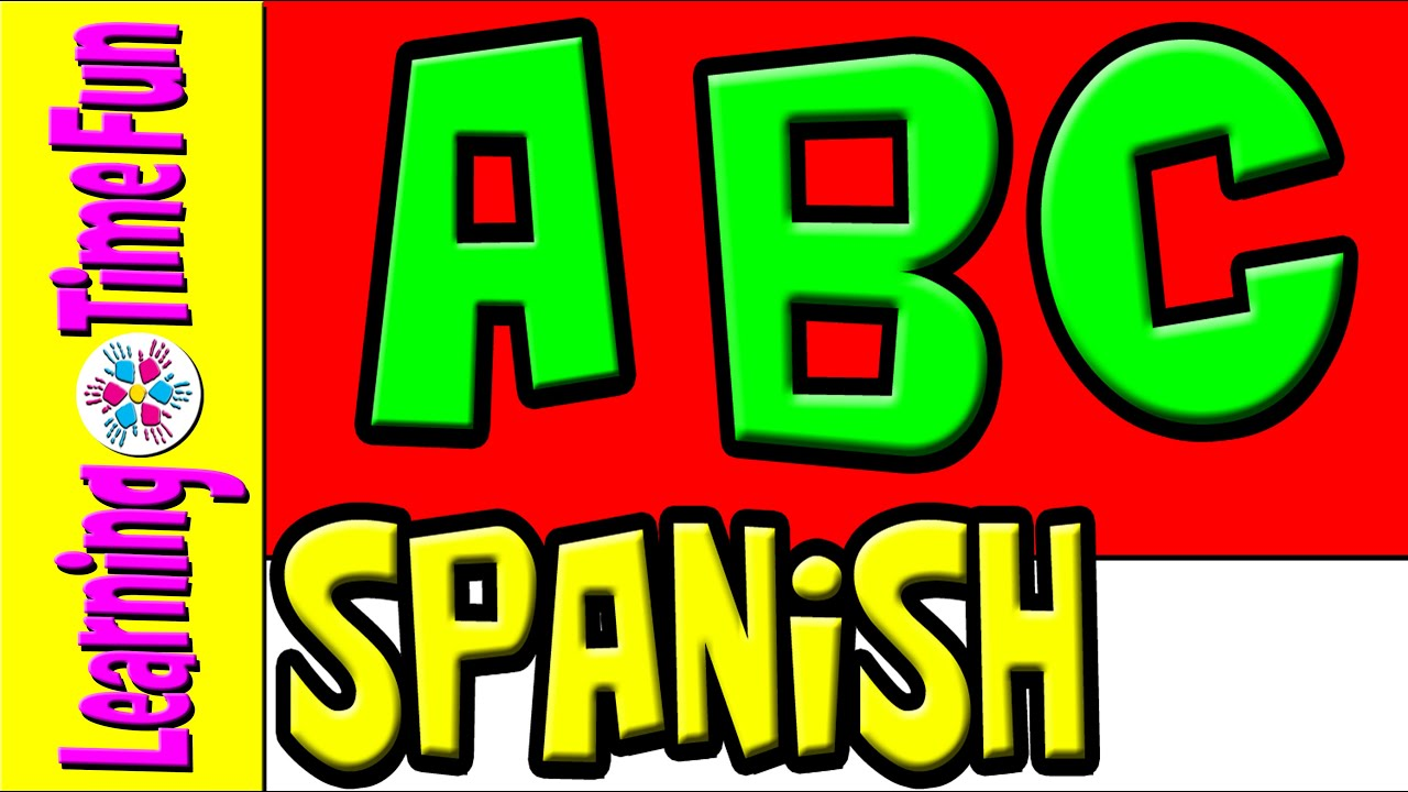 SPANISH Alphabet for Kids 2016 | ABC's in Spanish | Spanish Beginners,  Spanish Preschool | Los ABC