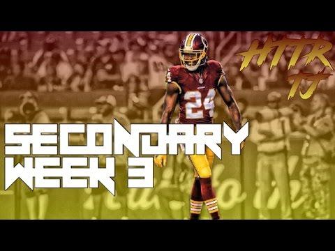 Preseason Week 3 Secondary Highlights ᴴᴰ    Washington Redskins