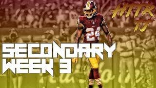 Preseason Week 3 Secondary Highlights ᴴᴰ || Washington Redskins