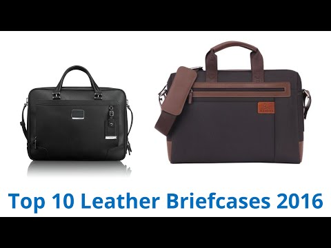 10 Best Leather Briefcases 2016