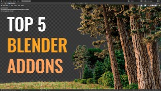 Top 5 Blender Addons I Use to Create Environments!