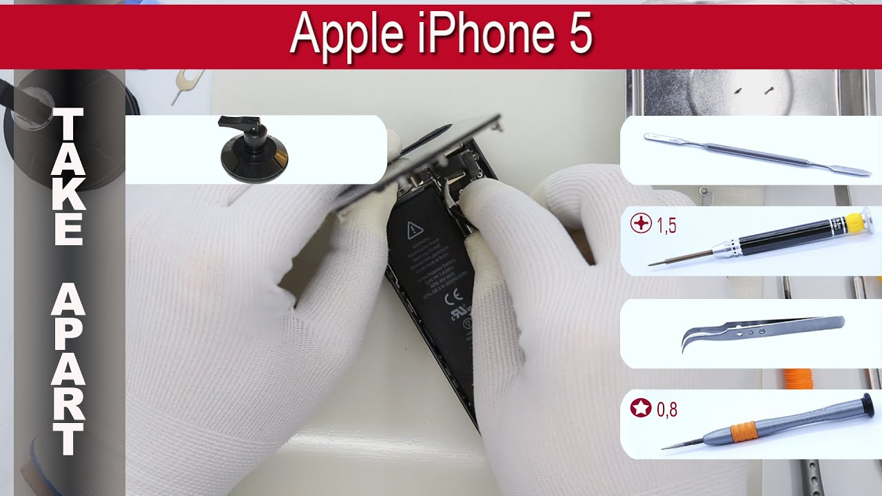 how to take apart iphone 5 how to disassemble apple iphone 5 a1428 a1429 a1442 19138