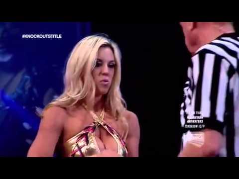 720pHD: iMPACT Wrestling 04.24.15: Taryn Terrell vs Awesome Kong