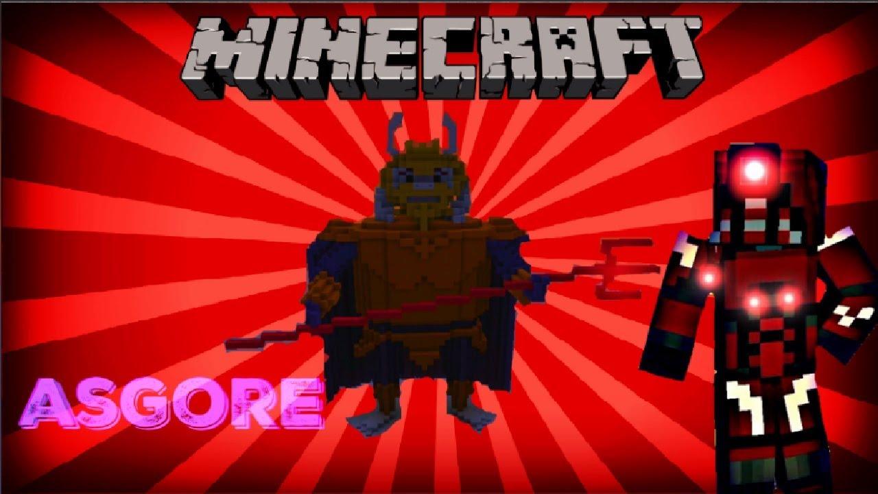 minecraft xbox 360 undertale asgore youtube