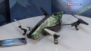 Parrot AR.Drone 2.0 Elite Edition review - Hardware.Info TV (Dutch)