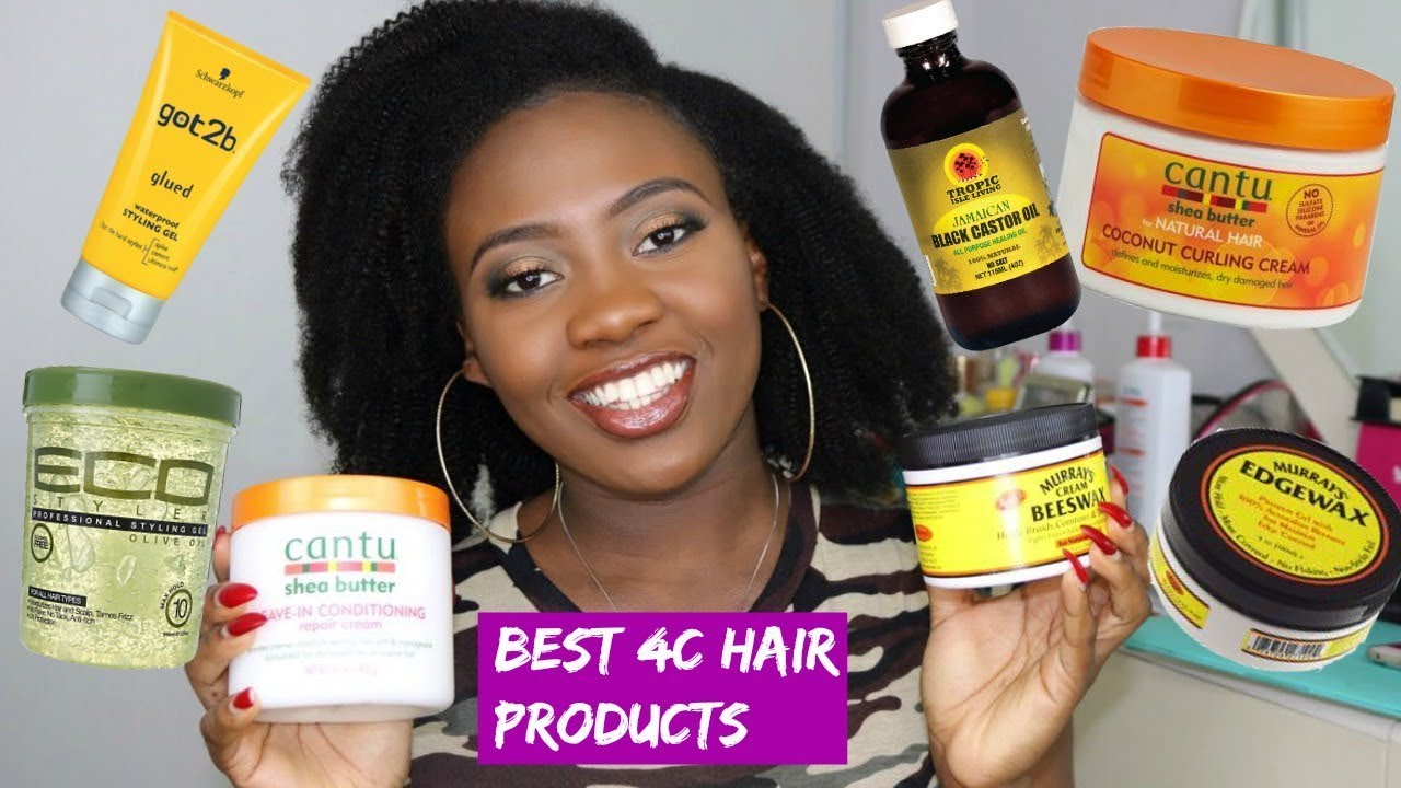 BEST AFFORDABLE Natural 4C Hair Products - YouTube