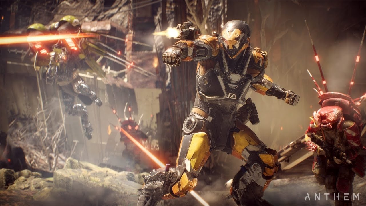 Anthem Gameplay Legion Of Dawn World Events Review In General