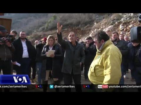 "Billedresultat for Protesta kundër ndotjeve nga guroret në Postribë"""