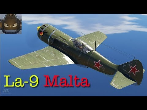 War Thunder SIM - La 9 - Malta